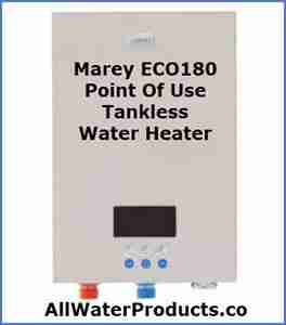 Marey ECO180 point of use tankless water heater AllWaterProducts.com