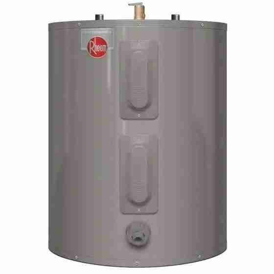 Rheem 38 gallon elecrtic lowboy water heater