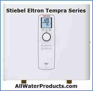 Stiebel Eltron Tempra Series Tankless Water Heaters AllWaterProducts.com