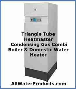 Triangle Tube Heatmaster Condensing Gas Combi Boiler & Domestic Water Heater