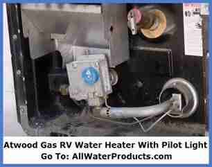 Atwood Gas RV Water Heater With Pilot Light. AllWaterProducts.com