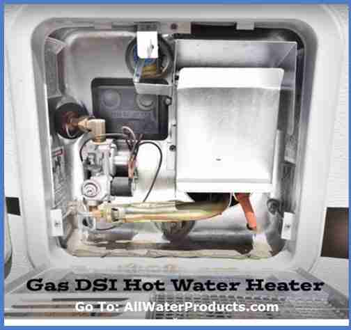 RV Gas Direct Spark Ignition Hot Water Heater. AllWaterProducts.com