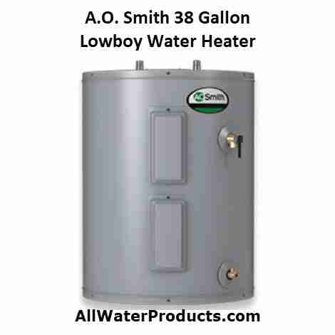 AO Smith 38 Gallon Lowboy Water Heater: Fits In Tight Places